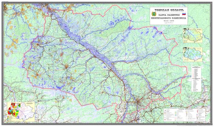 Карта развития нефтегазового